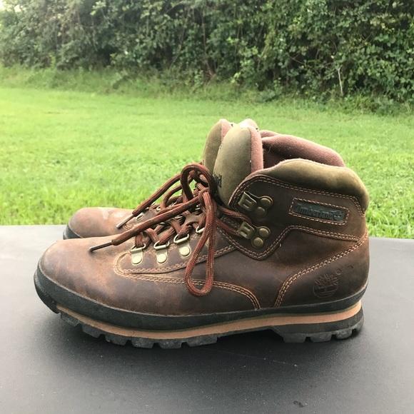 214f089171aa6 TIMBERLAND 95310 Euro Leather Hiking Boots 10. M_5b6e6a48c2e88e073328f180